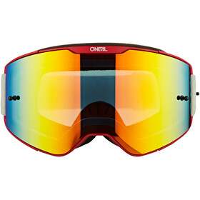 O'Neal B-20 Goggles Plain red/neon yellow-radium red